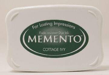 Memento Ink Pad - Cottage Ivy