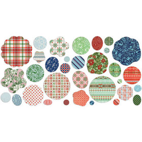 BasicGrey Nordic Holiday - Die-Cut Flowers