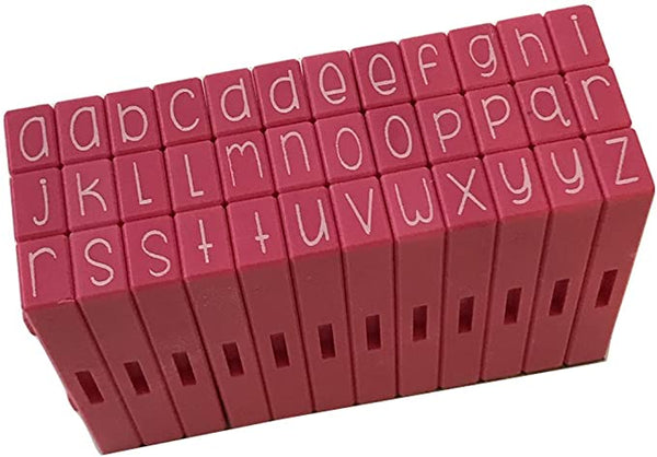 Pink & Main Curvy Girls Pegz - Lowercase Set - 36 pc