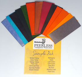 Peerless Watercolors - Sample Pack (15 colors)