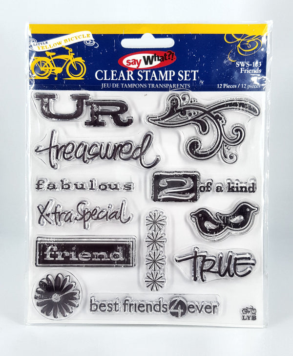 Little Yellow Bicycle - Friends Stamp Set