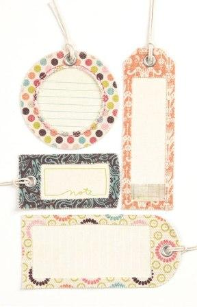 BasicGrey Sweet Threads - Self Adhesive Canvas Tags