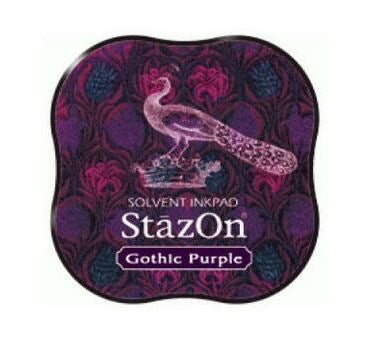 StazOn Midi Ink Pad - Gothic Purple