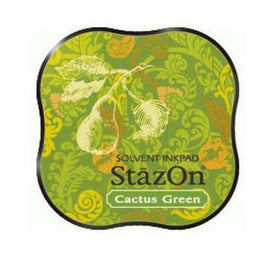 StazOn Midi Ink Pad - Cactus Green
