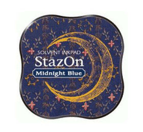 StazOn Midi Ink Pad - Midnight Blue