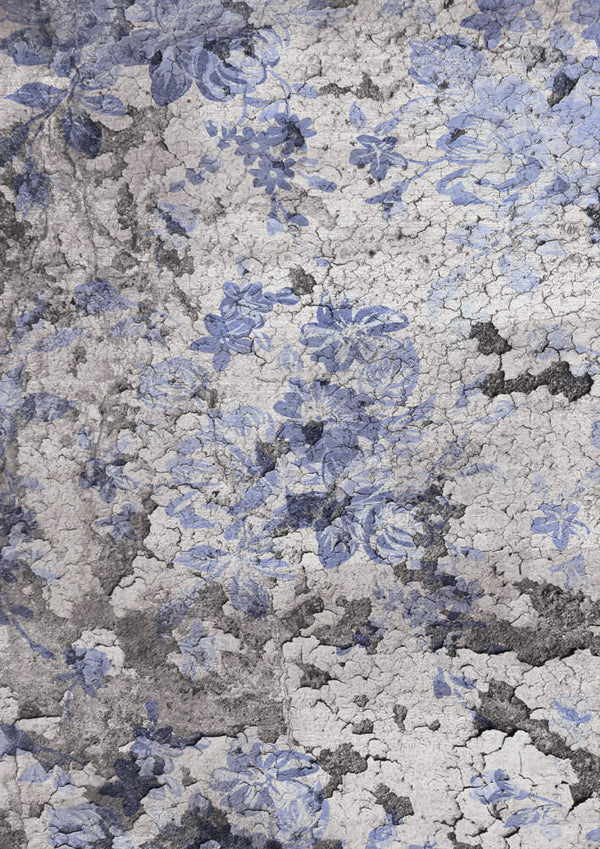 Andy Skinner Rice Paper - Floral Grunge