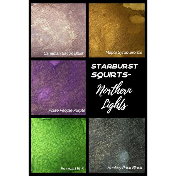 Lindy's Stamp Gang Starburst Squirts - Northern Lights