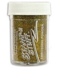 Stampendous Embossing Powder - Gold Tinsel