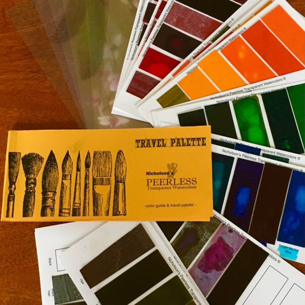 Peerless Watercolors - Travel Palette and Color Guide (Empty)