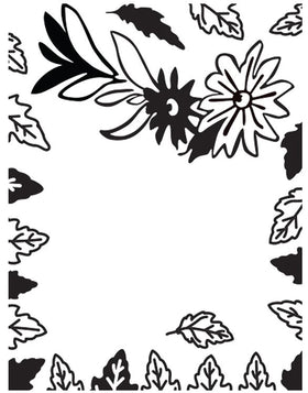 Ultimate Crafts A2 Embossing Folder - Simple Elegance