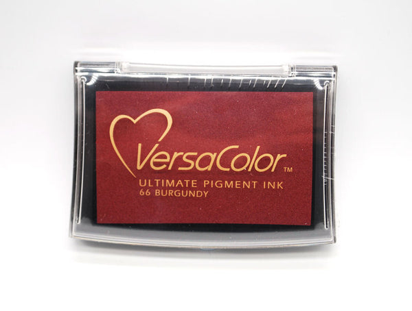 Versacolor Ultimate Pigment Ink Pad - Burgundy