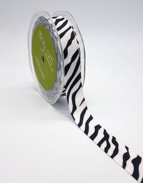 May Arts Animal Print Ribbon - Tiger, Zebra & Leopard