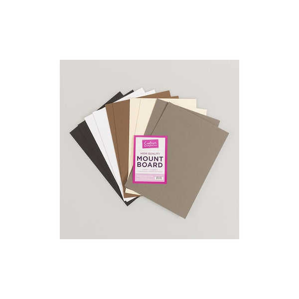 Crafters Companion A4 Mountboard (Pack of 10 Sheets)