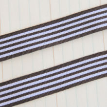 Maya Road Candy Stripes Ribbon - Brown