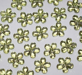 Flower Crystals - Pale Green