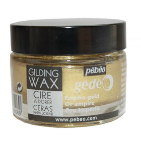 Pebeo Gilding Wax - Empire Gold