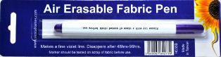 Air Erasable Fabric Pen