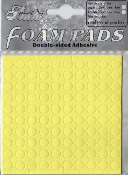Double Sided 3-D Round Foam Pads - Large
