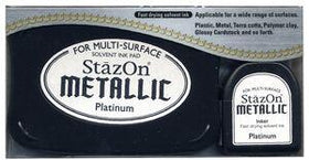 Stazon Metallic - Platinum