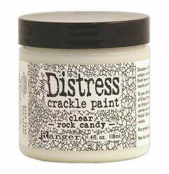 Tim Holtz Distress Crackle Paint - Clear Rock Candy Large (4oz)