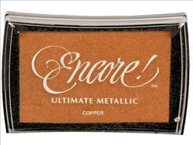 Encore Ultimate Metallic Ink Pad - Copper