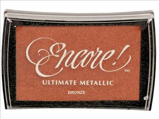 Encore Ultimate Metallic Ink Pad - Bronze