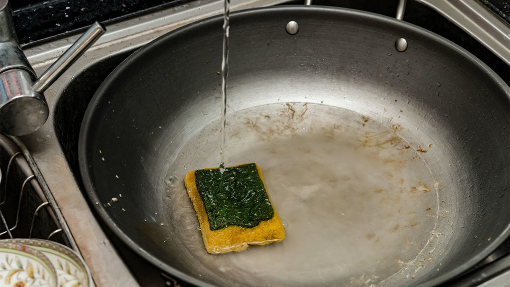 Your kitchen sponge might be dirtier than the surfaces you're trying to clean.
