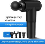 Massage Gun Deep Tissue Percussion Muscle Massager, Rechargeable