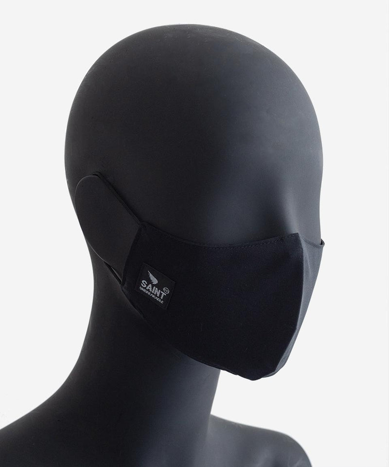 SA1NT Youth Nano Mask 3 layer - Black
