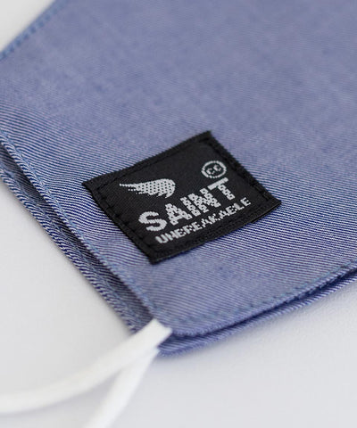 SA1NT Youth Nano Mask 3 layer - Denim
