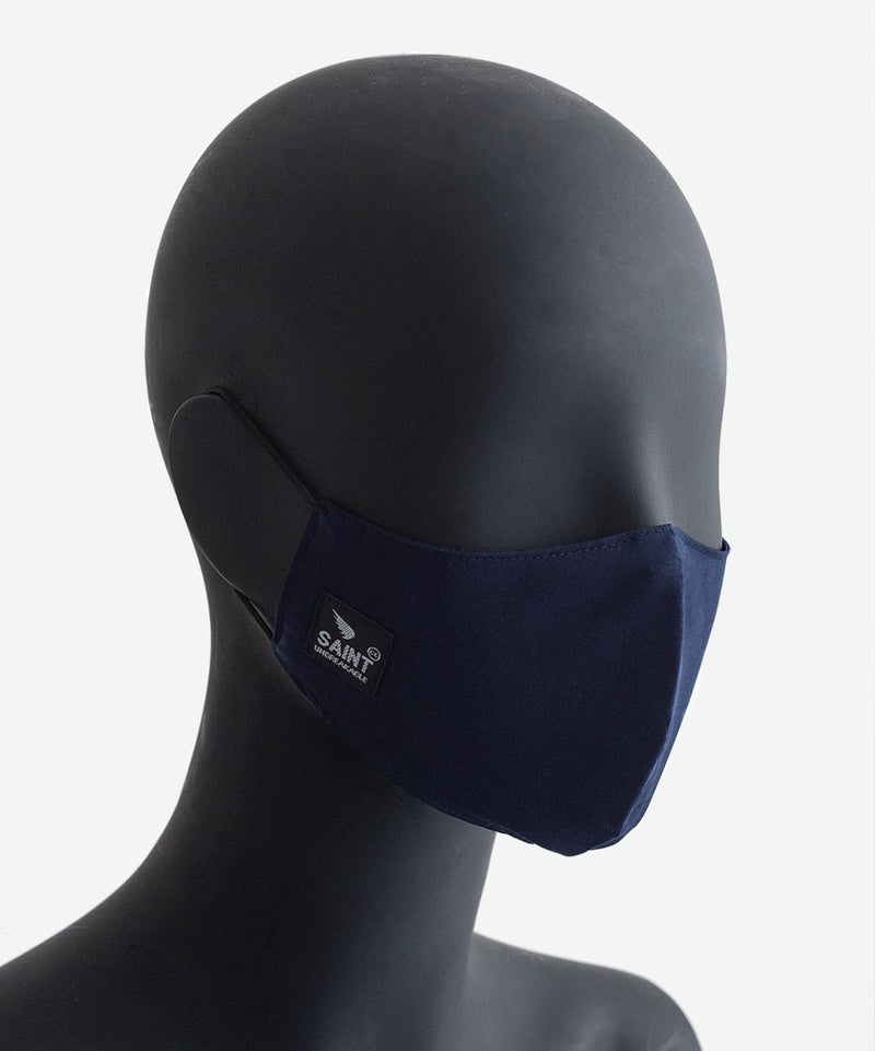 SA1NT Triple Layer Nano Mask - Navy