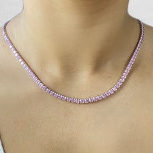 Load image into Gallery viewer, Women's diamond Necklace
