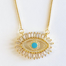 Load image into Gallery viewer, Women's Evil Eye Necklace