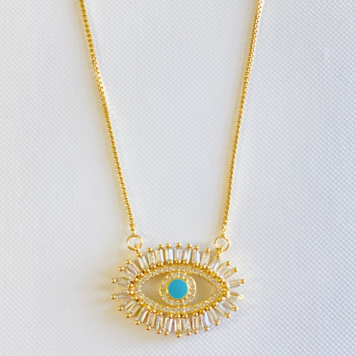 Women's Evil Eye Necklace