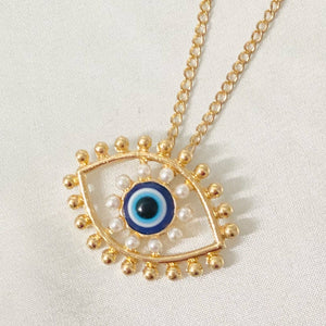 Evil Eye Necklace Choker