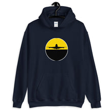 Load image into Gallery viewer, Unisex Hoodie - Pilot Hoodie - Airplane landing sunset - PilotHangout
