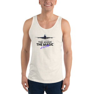 Unisex Tank Tops - The Magic of Flying