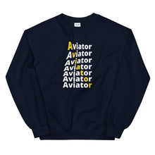 Load image into Gallery viewer, Unisex Pilot  Sweatshirt - Aviator - PilotHangout