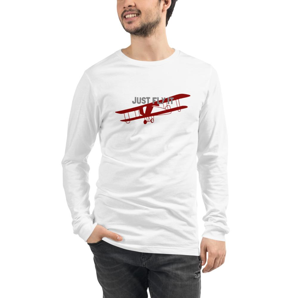 Unisex Long Sleeve T-Shirt - Just Fly It - PilotHangout