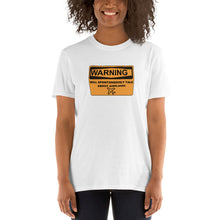 Load image into Gallery viewer, Unisex Pilot T-Shirt Funny - Warning will spontaneously talk about airplanes