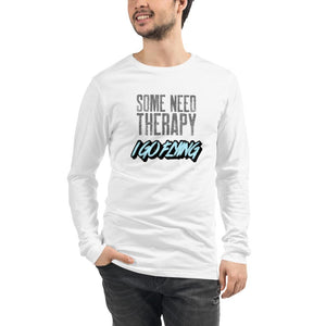 Unisex Long Sleeve T-Shirt - Pilot - Some Need Therapy I Go Flying - PilotHangout