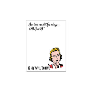 WITTY WOMEN WHO CAN'T DECIDE NOTEPADS