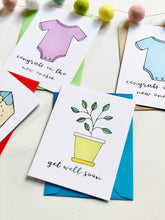 Load image into Gallery viewer, GAME OF LIFE PUN FUN GREETING CARD SET