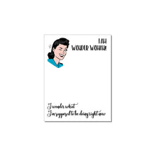 Load image into Gallery viewer, WITTY WOMEN WHO ARE BOSS BABES NOTEPADS