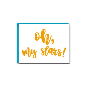 OH, MY STARS! SOUTHERN SASS GREETING CARDS