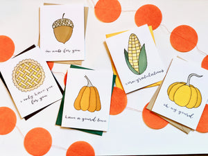 GOURD-EOUS PUN FUN GREETING CARD SET