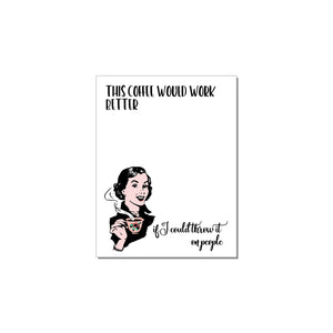 WITTY WOMEN WHO ARE BOSS BABES NOTEPADS