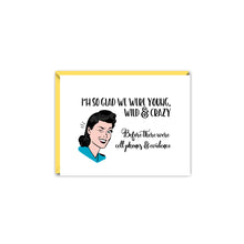 Load image into Gallery viewer, WITTY WOMEN WISHING YOU HAPPINESS GREETING CARD SET