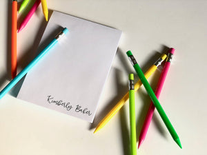 BEAUTIFUL PERSONALIZED NOTEPAD