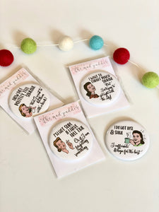 WITTY WOMEN BUTTONS
